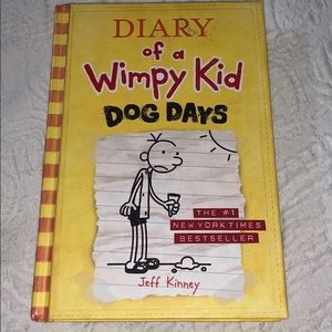 Accessories - Diary of a Wimpy Kid Dog Days Book